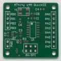 ATtiny24A / 44A / 84A Bare Prototyping PCB